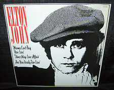 ELTON JOHN Mama Can't Buy You Love (1979 U.S. Gold Foil Stamped Promo 12inch)