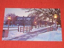 1970 Ephrata Cloister, PA Postcard Christmas at the Cloister #44578 NOS EXC