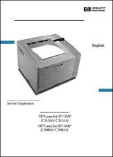 HP LaserJet 5P/5MP/6P/6MP Laser Print 117 PAGE Service Manual*PAPER not PDF*
