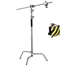 Phot-R Heavy Duty Photo Studio 3.25m C-Stand Century Light Boom Arm Sandbag Kit