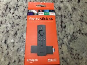 NEW Amazon Fire TV Stick 4K w/ Alexa Voice Remote - 2nd Generation.