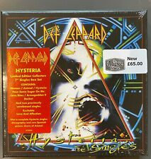 "Def Leppard – Hysteria LTD ED Collectors 7"" Singles Box Set Vinyl"