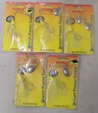 5 Wazp 1/4 oz Spinner Rigs Fishing Lure