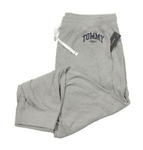 Tommy Hilfiger Sleepwear Men's Gray Logo Print Lounge Pants