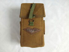 Surplus Vietnam War Us Army Rifle M16 Militray Ammo Pouch Bag Field Gear Clip
