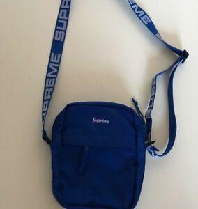 SS18 Supreme shoulder bag royal Cordura Fabric