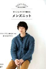 Men's Knit M L LL Size - Japanese Pattern Book