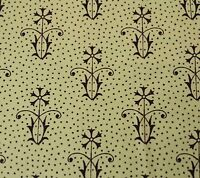 "25"" Letter Stitch J Wecker Frisch Quilting Treasures Set Floral Dot Light Green"