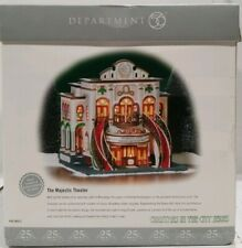 Dept 56 Christmas in the City The Majestic Theater Celebrating 25th Anniversary