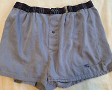 Burberry Men's Boxer Underwear Blue Large Size Pre Owned