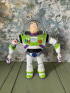 Buzz Lightyear Figure Chrome Utility Anti-Gravity Belt RARE TOY STORY PIXAR (6)