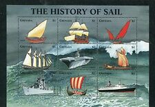 Grenada 1998 3191-99 storia della marina  MHN