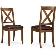 Better Homes Gardens Maddox Crossing Dining Chair, Set of 2, Brown