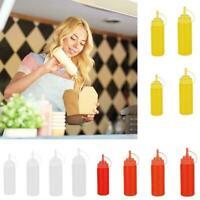 BBQ Ketchup Sauce Dispenser Flaschen Olivenöl Dispensing Jar Flasch Squeeze E5Y9