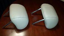 Honda Accord 2 Headrests Rear/Back Seat-Tan-Leather