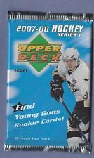 2007-08 Upper Deck Hockey Series 1 Hobby Pack Fresh from Box!