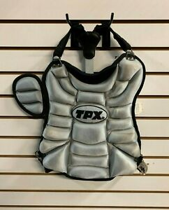 Louisville Slugger TPX Catcher's Youth Chest Protector Grey