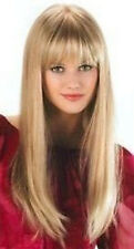 High quality!Blonde Long Straight Healthy Women's Hair Wig,Cosplay Costume Wigs