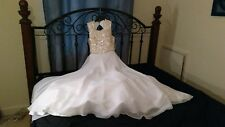 Lovely Sparkly Wedding Gown $340 Value, Sz 4