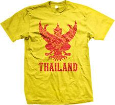 Thailand Symbol Thai Distressed Country Born From Kingdom THA TH Men's T-Shirt