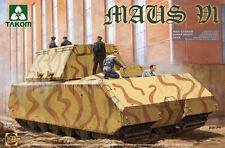 TAKOM 1/35 Maus V1 II Guerra Mundial Alemán Súper Tanque Pesado #02049