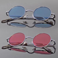 John Lennon Style Vintage Retro Classic Circle Round Sunglasses For Small Faces
