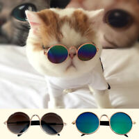 Small Cat Dog Sunglasses Glasses Costume Pet Toy Outfit Clothes Funny Accessory