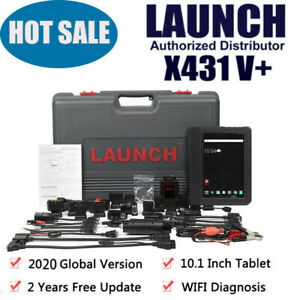 Global NEW LAUNCH X431 V+ OBD2 All System Key Coding Active Test Diagnostic Tool