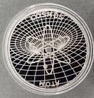 1 Silver Cosmos (ATOM) Crypto Coin <br/> 1 oz commemorative physical collectible metal proof