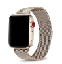Rose Gold Metal Watch Strap Compatible With Apple Iphone 42mm