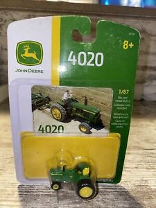 1/87th Scale John Deere 4020 narrow front with duals ertl die-Cast