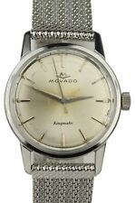 Vintage Men's Movado Kingmatic Sub-Sea 28 Jewels Automatic Stainless Steel Watch