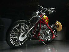 Harley Davidson Motorcycle 1969 Easy Rider Movie Billy Bike Chopper Metal Model