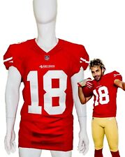 Dante Pettis Rookie Premiere Worn San Francisco 49ers NFL Jersey Like Game Used
