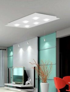 Ceiling From Ceiling Modern Design A LED White Glass People 9600-PL15