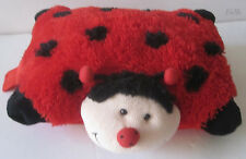 Ms Lady Bug Pee Wee 11 inch Pillow Pet Red Black