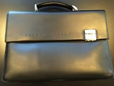 Braun Buffel Leather Briefcase with Strap NEW