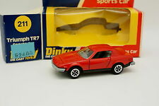 Dinky Toys GB 1/43 - Triumph TR7 Rouge 211