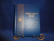 WHITMAN COIN ALBUMS-LIBERTY SEATED HALVES 1864-1891-EXTREMELY RARE-ALBUM ONLY