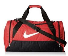 Nike Brasilia 6 Duffel Gym Bag Medium - Red - New - Save 30% off listed price