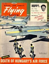 RAF FLYING REVIEW MAY 57 WW2 DUTCH AF FOKKER ACFT_C-130_F-86_ISRAELI MYSTERE
