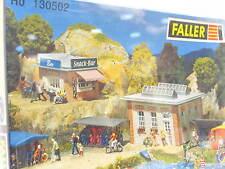 Faller h0 130502 camping reconstituidos set embalaje original (z4806)