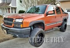 Textured Black 02-06 Chevy Avalanche OE Fender Flares Bolt On No Drill Set 4