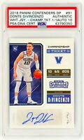 DONTE DIVINCENZO 2018 Panini Contenders Championship Ticket 1/1 ROOKIE RC AUTO