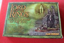 Games Workshop Lord of the Rings Sauron Metal LoTR NIB New Boxed GW Ring OOP