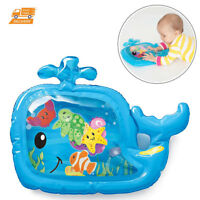 Inflatable Baby Toy Pat And Play Water Mat Tummy Time High Chair Learning Fun