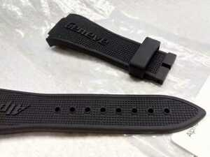 ALPINA Extreme Diver 1000 black silicone watch strap band OEM NEW AL525X5AEV6