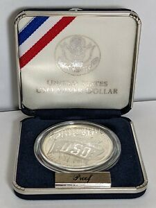 1991-S USO Silver Dollar Proof 190449p