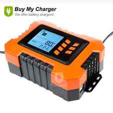 Intelligent Smart 12v 12A UpTo 5.0L Car Van Battery Charger & Analyser Tester