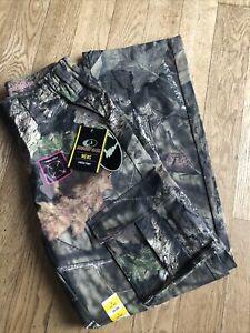 New ~ Mossy Oak  6 Pocket Camo Cargo Pants ~ Turkey Hunting ~ Men's Small